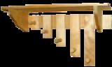 Вешалки для бани
