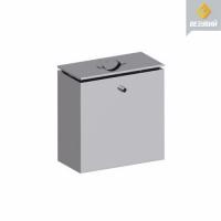 Бак нерж. 60 литров под контур (Прямоугольный) (aisi439)