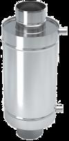 Теплообменник 6 литров на трубе д.115 (aisi439)