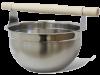 Шайка для бани 7л. (нерж.) SAWO 375-MP