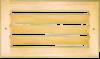 Вентиляционная решетка без задвижки