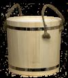 Запарник с пластиковым вкладышем (осина, ольха)