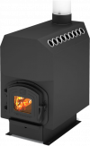 Печь отопительная ТОП-300 с чугунный дверцей