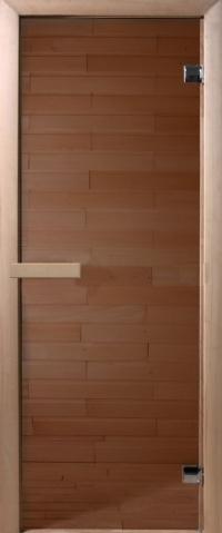 Дверь DoorWood прозрачная бронза 6мм.